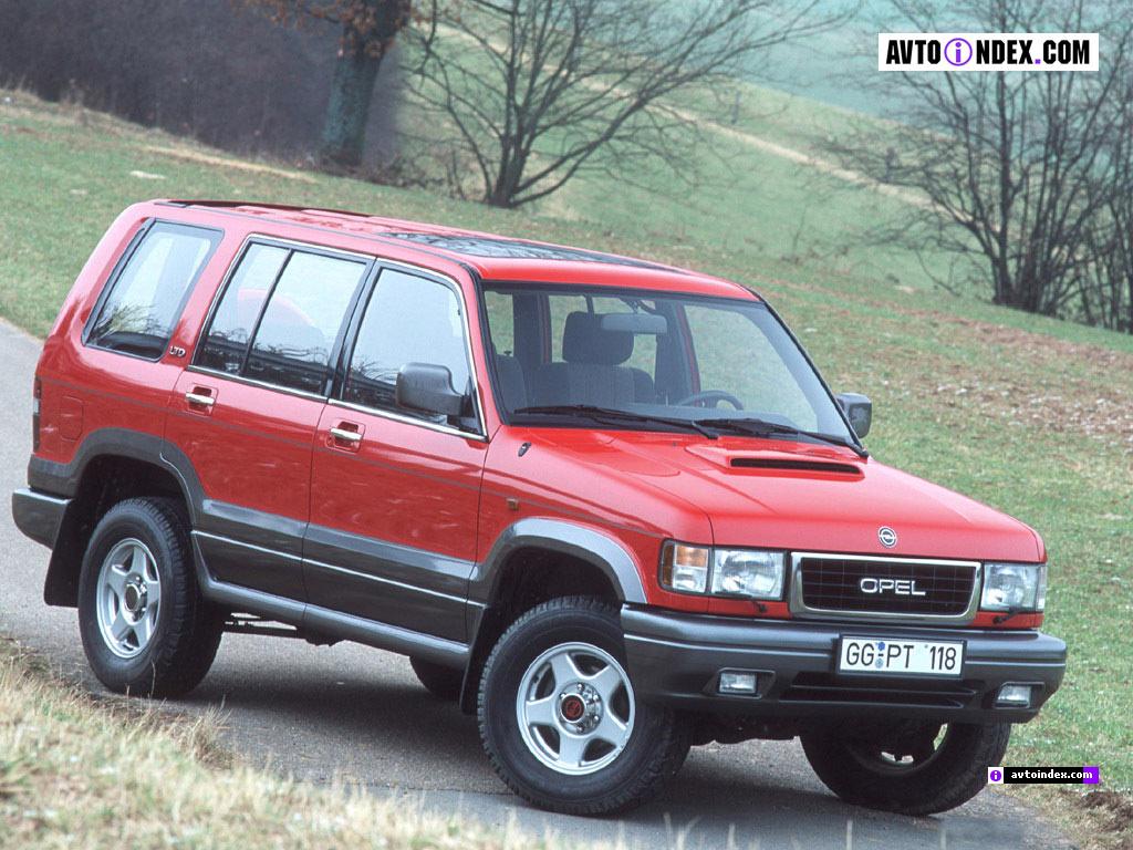 Opel Monterey A 1992 - 1998 SUV 5 door #3