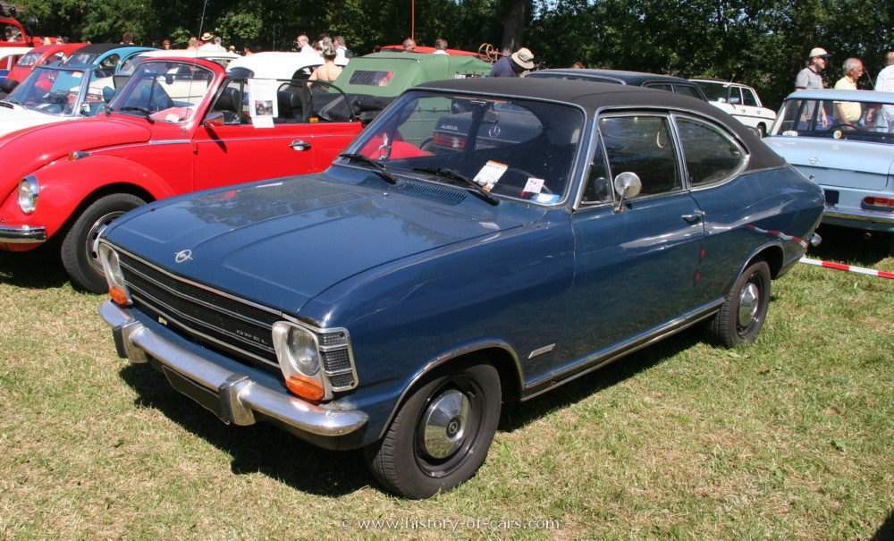 Opel Olympia A 1967 - 1970 Coupe #5