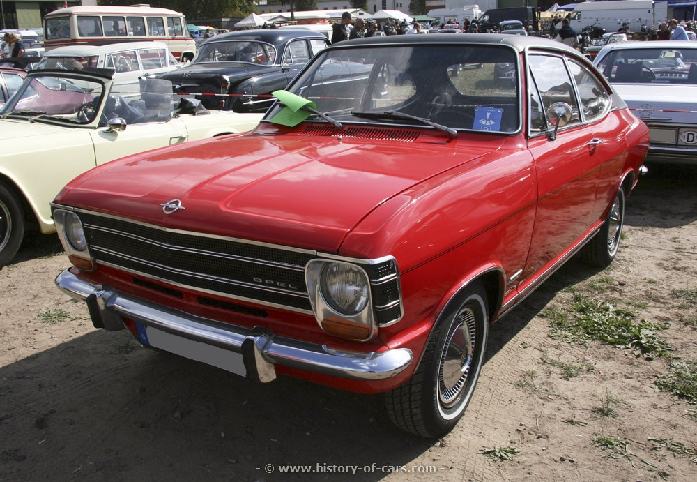 Opel Olympia A 1967 - 1970 Coupe #4