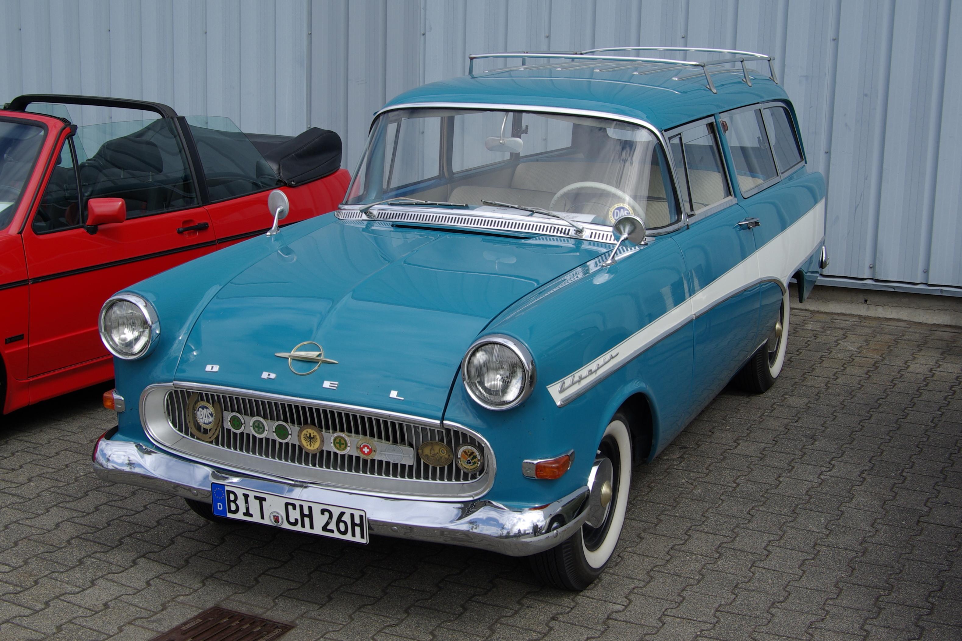 Opel Olympia I 1935 - 1949 Sedan #1