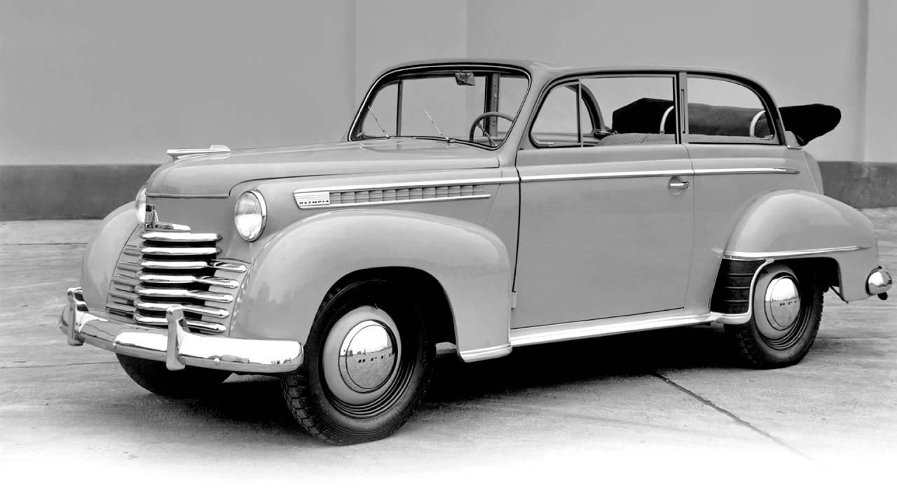 Opel Olympia II 1950 - 1953 Cabriolet #1