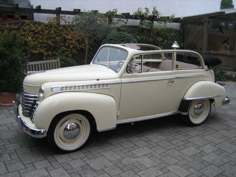 Opel Olympia II 1950 - 1953 Cabriolet #5
