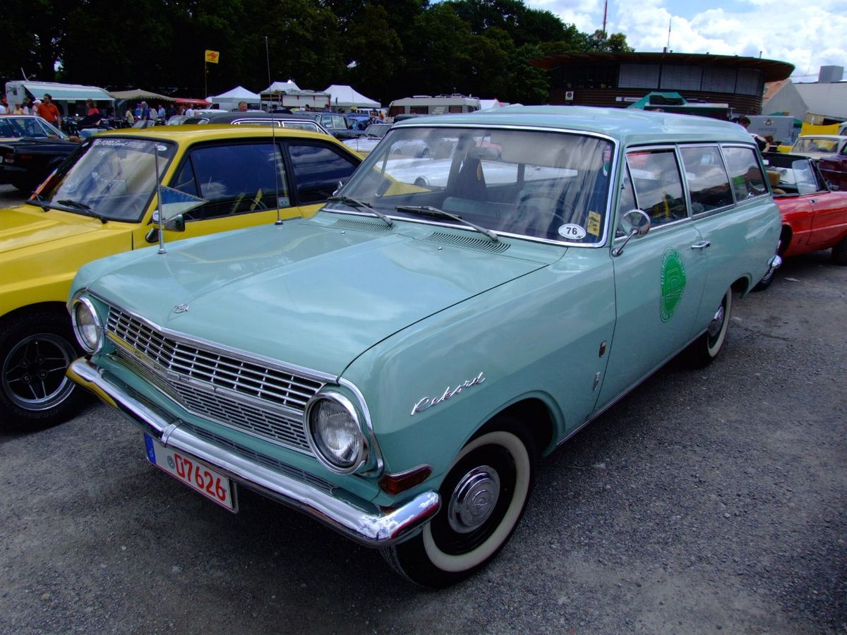 Opel Rekord A 1963 - 1965 Station wagon 3 door #7