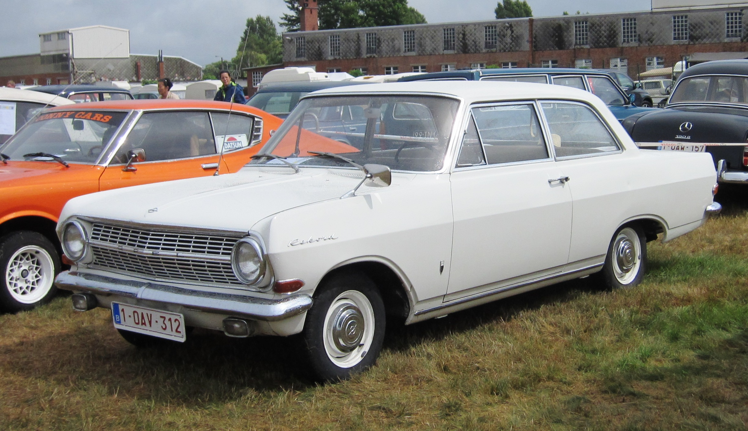 Opel Rekord A 1963 - 1965 Station wagon 3 door #5