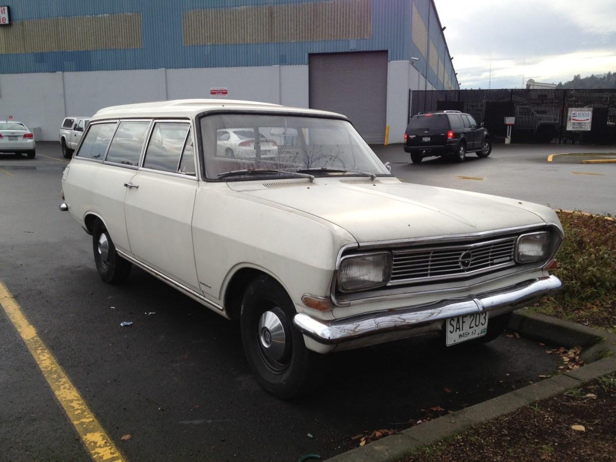 Opel Rekord A 1963 - 1965 Station wagon 3 door #1