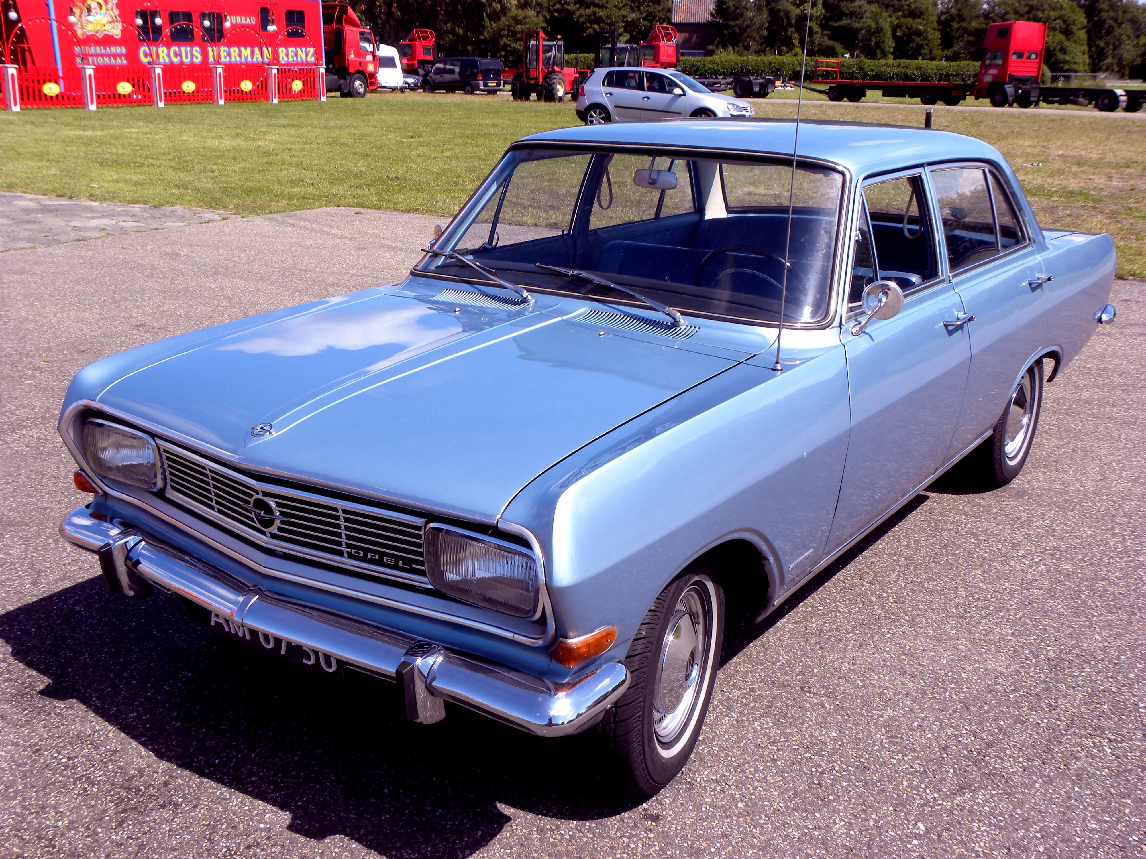 Opel Rekord A 1963 - 1965 Station wagon 3 door #2