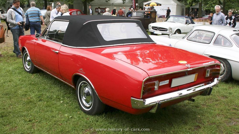 Opel Rekord C 1967 - 1971 Cabriolet #3