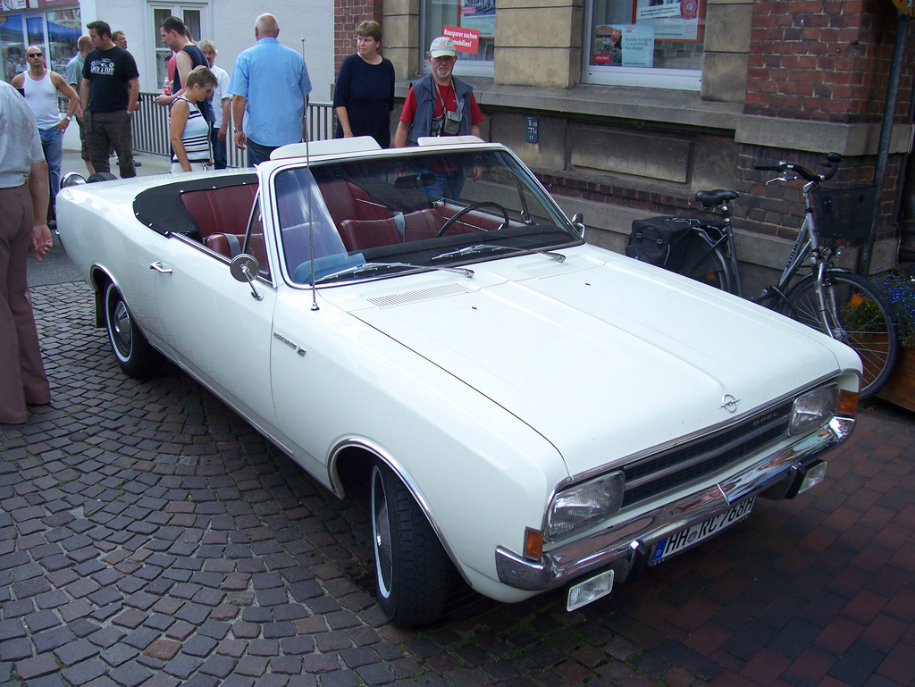 Opel Rekord C 1967 - 1971 Cabriolet #4
