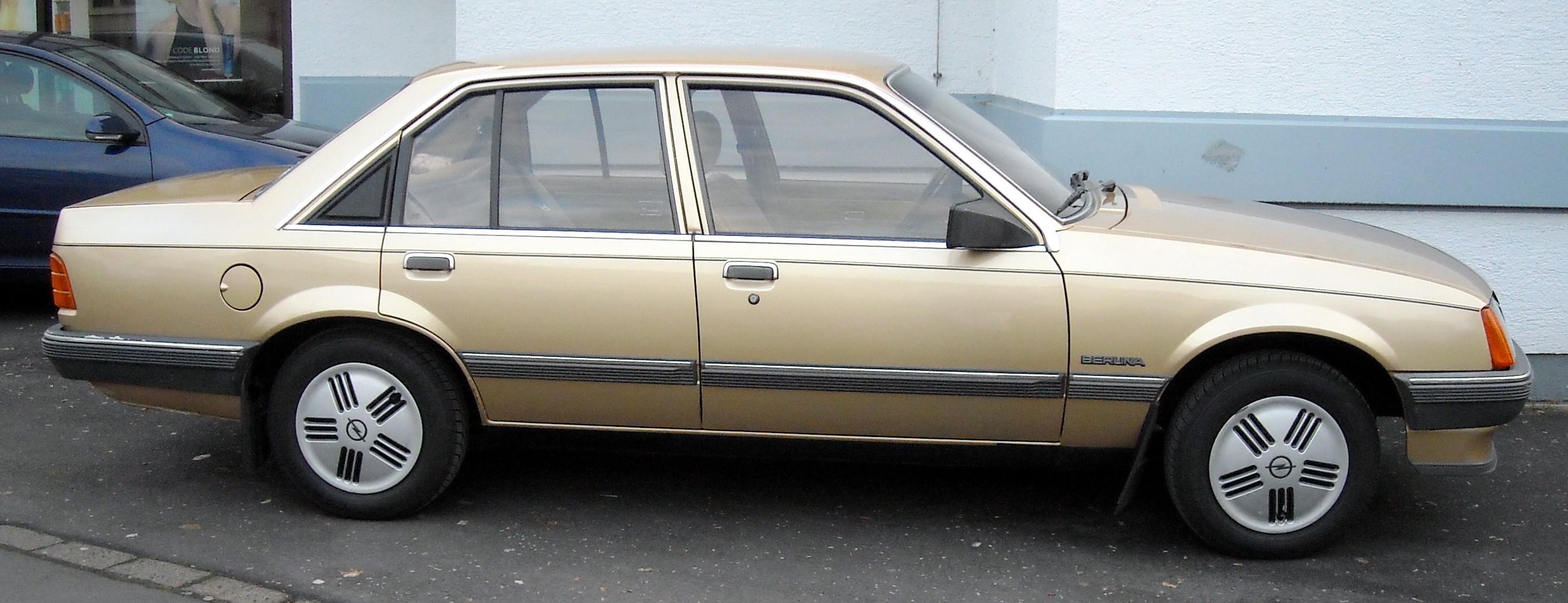 Opel Rekord E 1977 - 1986 Sedan #1