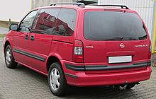 Opel Sintra 1996 - 1999 Minivan #2