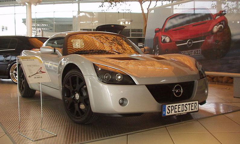 Opel Speedster 2000 - 2005 Targa #3