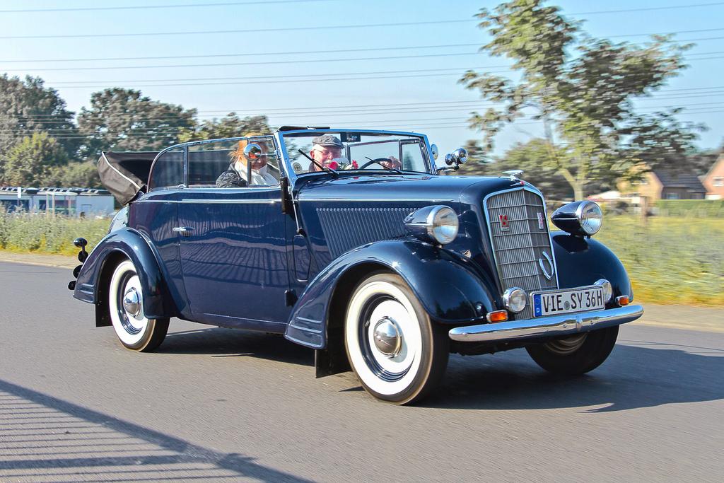 Opel Super Six 1936 - 1938 Cabriolet #8