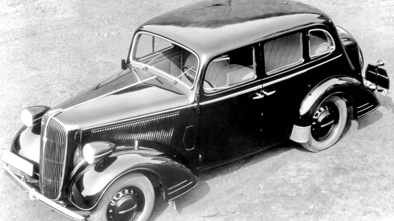 Opel Super Six 1936 - 1938 Sedan #4
