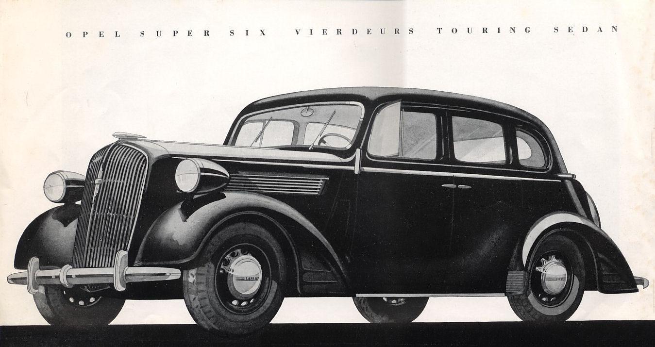 Opel Super Six 1936 - 1938 Sedan #2