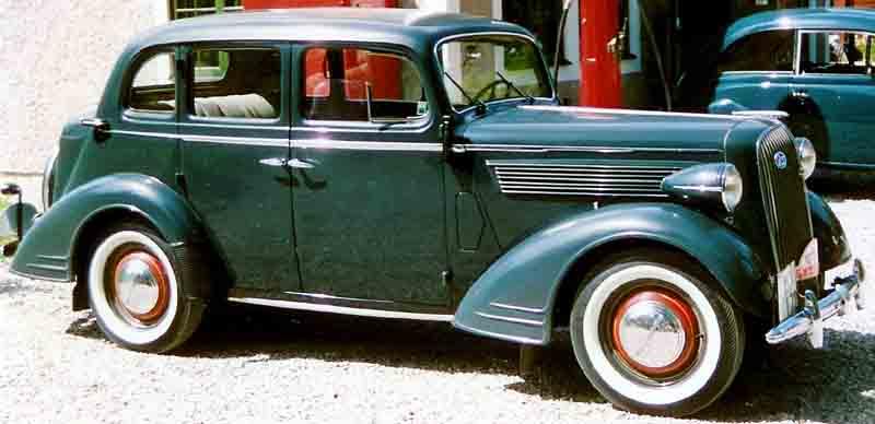 Opel Super Six 1936 - 1938 Sedan #7