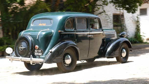 Opel Super Six 1936 - 1938 Sedan #5