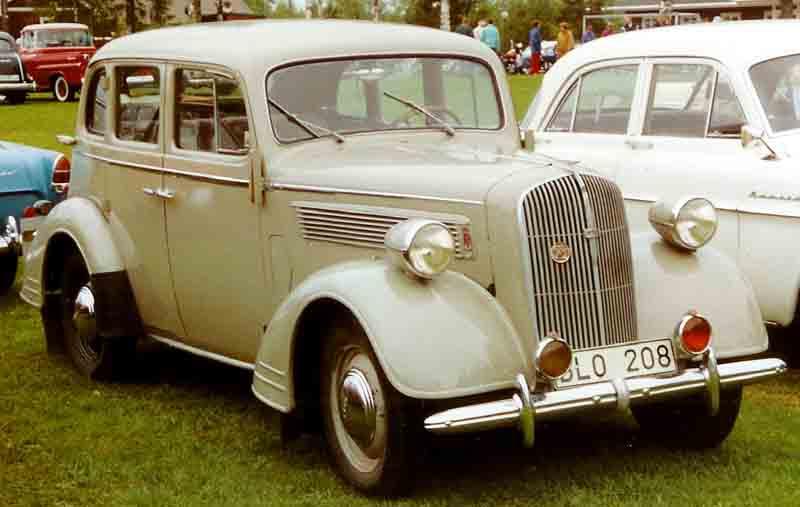 Opel Super Six 1936 - 1938 Sedan #8