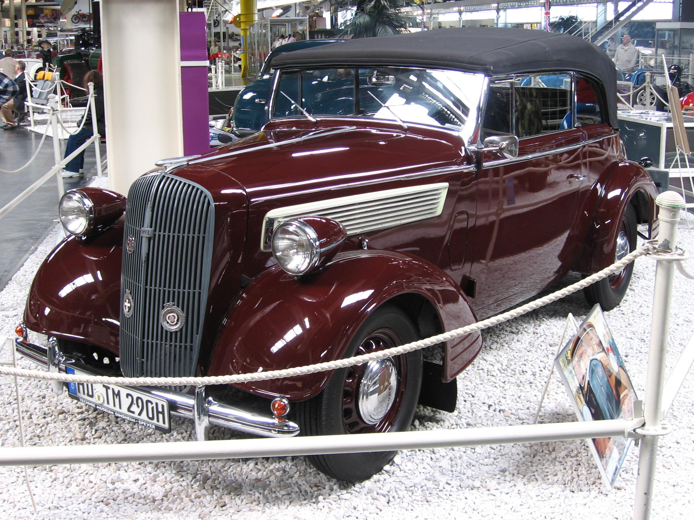 Opel Super Six 1936 - 1938 Sedan #6