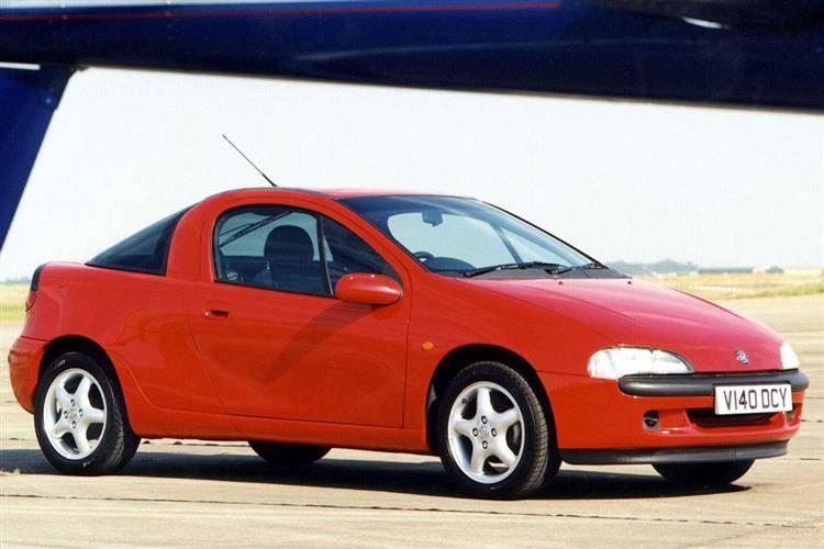 Opel Tigra A 1994 - 2001 Coupe #4