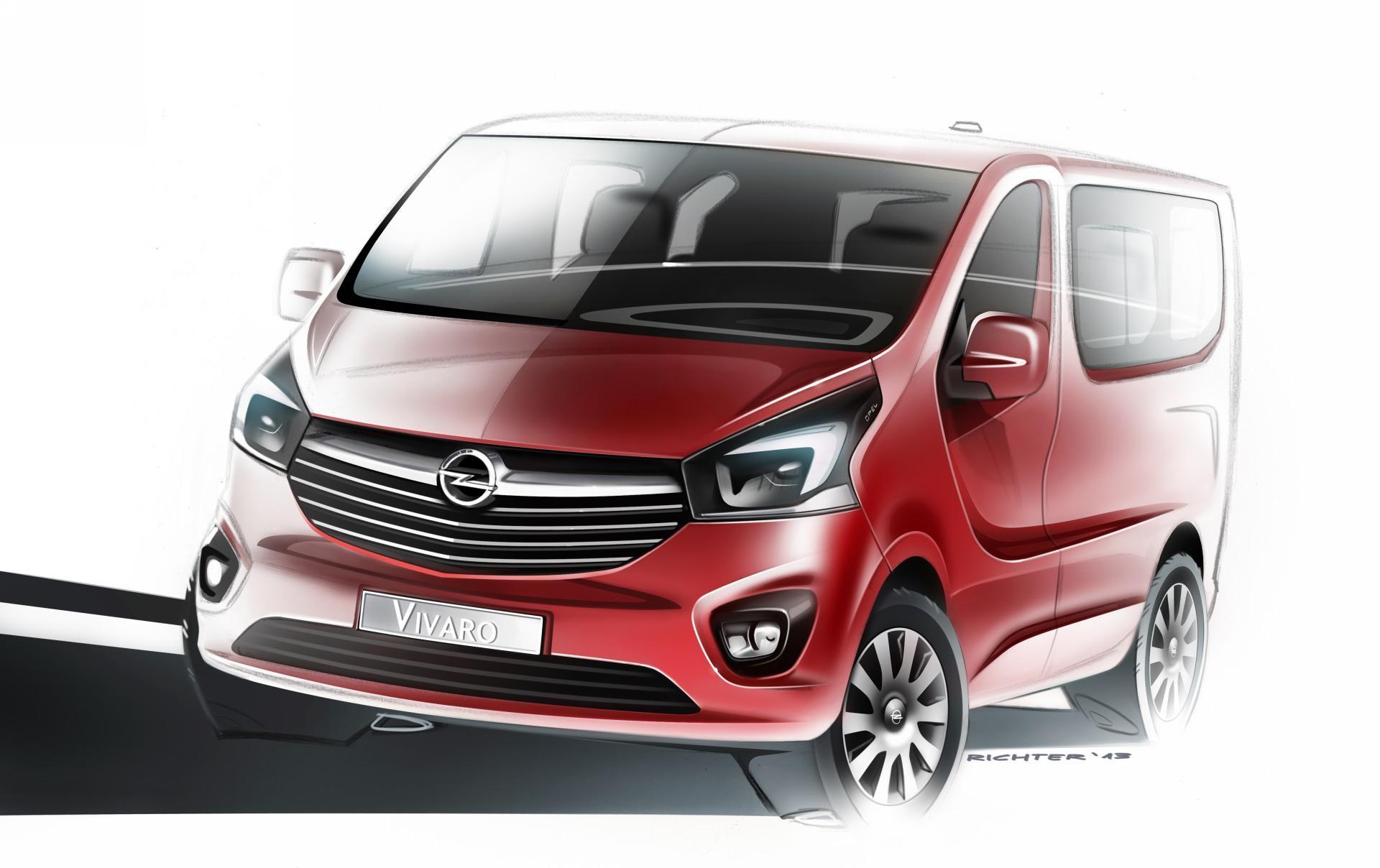 Opel Vivaro B 2014 - now Minivan #3