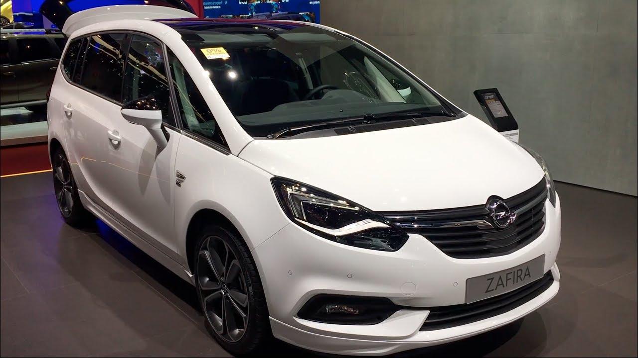 Opel Zafira C Restyling 2016 - now Minivan #4