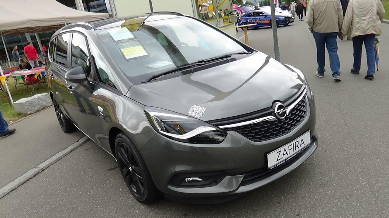 Opel Zafira C Restyling 2016 - now Minivan #7