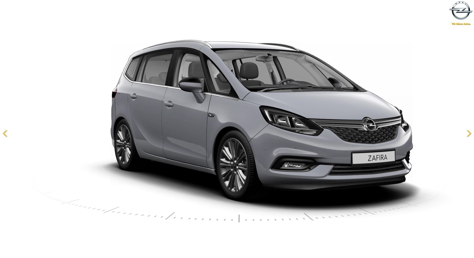Opel Zafira C Restyling 2016 - now Minivan #6