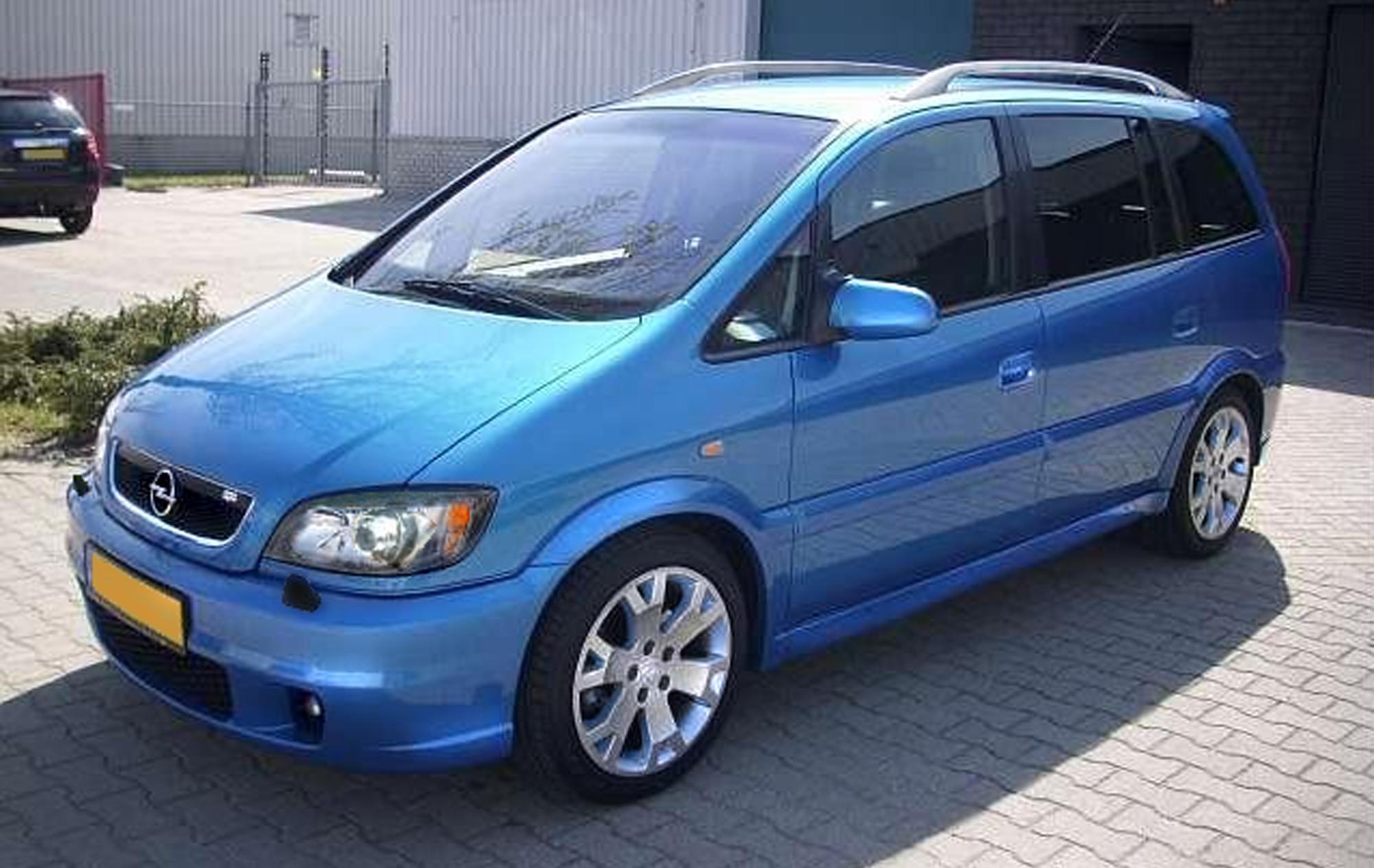 Opel Zafira OPC A 2001 - 2003 Compact MPV #3