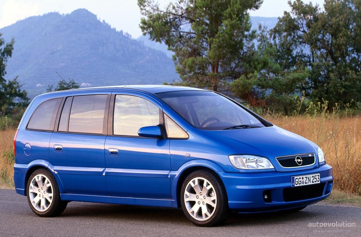 Opel Zafira OPC A 2001 - 2003 Compact MPV #6