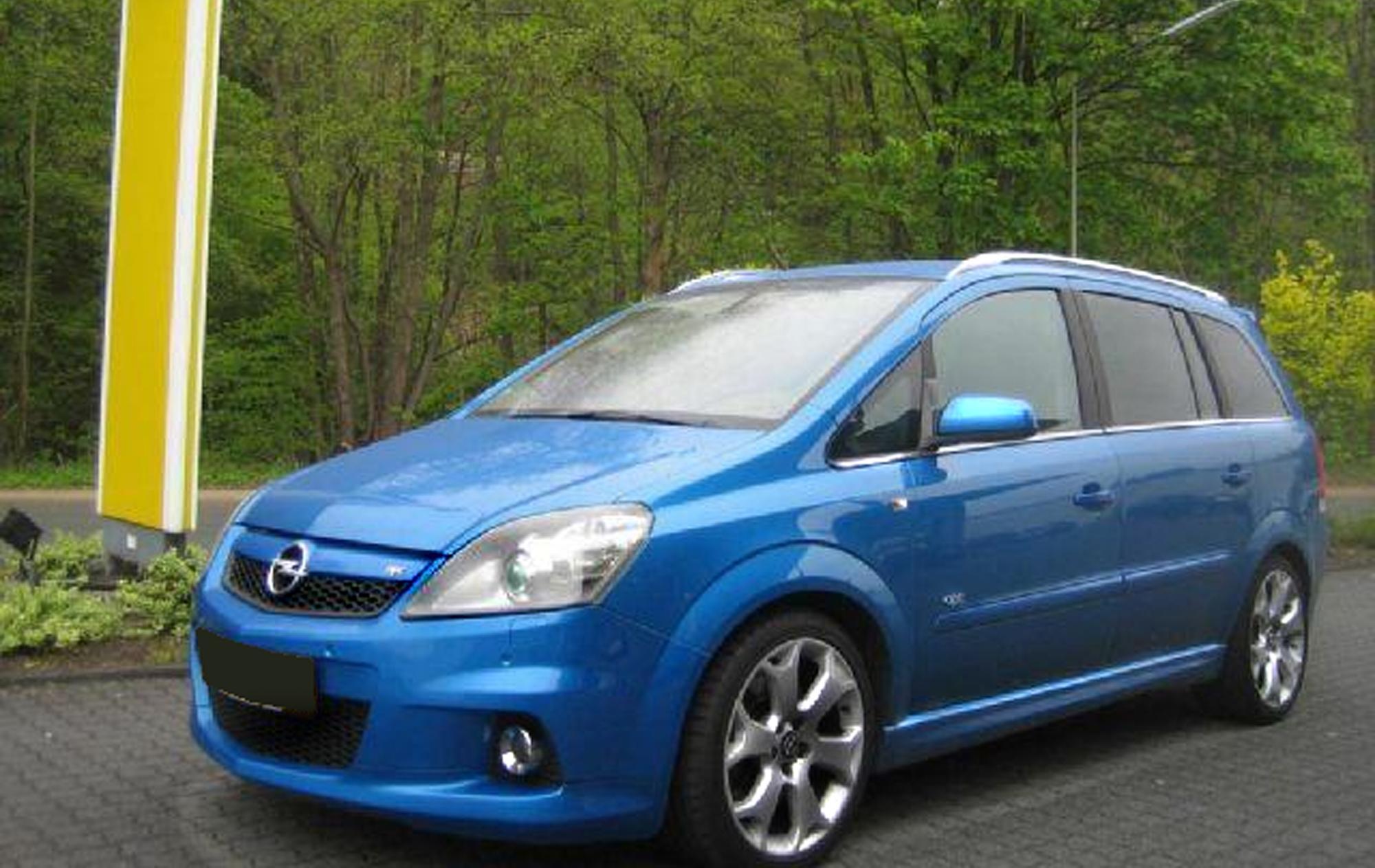 Opel Zafira OPC B 2005 - 2010 Compact MPV #3