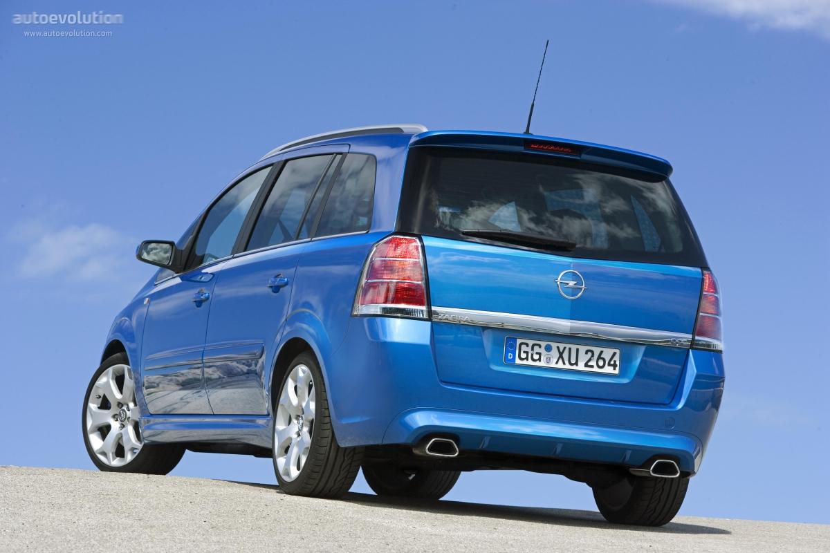 Opel Zafira OPC B 2005 - 2010 Compact MPV #4