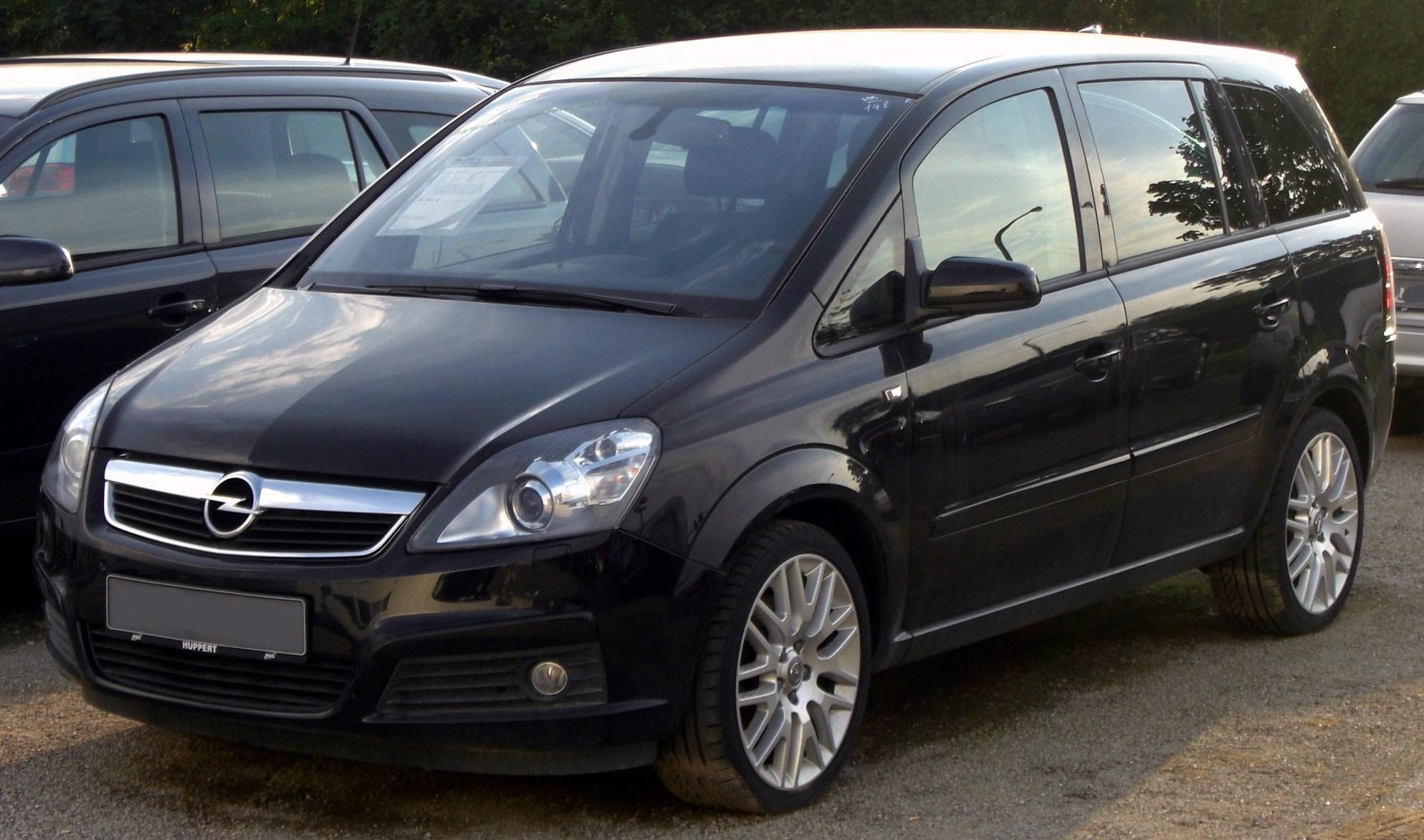 Opel Zafira OPC B 2005 - 2010 Compact MPV #1