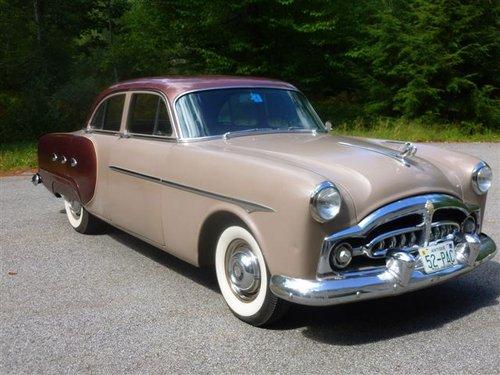 Packard 200뢒 I 1951 - 1952 Sedan #1