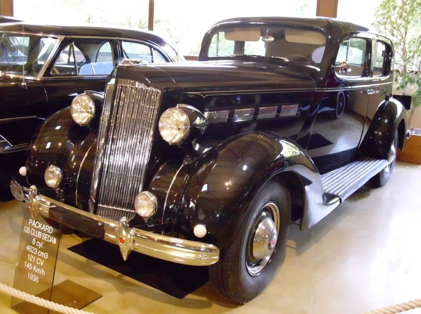 Packard One-Twenty 1935 - 1941 Sedan #5