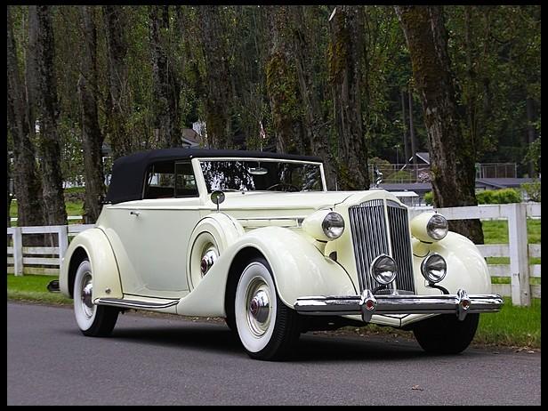 Packard Twelve 1932 - 1939 Cabriolet #1