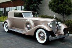 Packard Twelve 1932 - 1939 Cabriolet #8