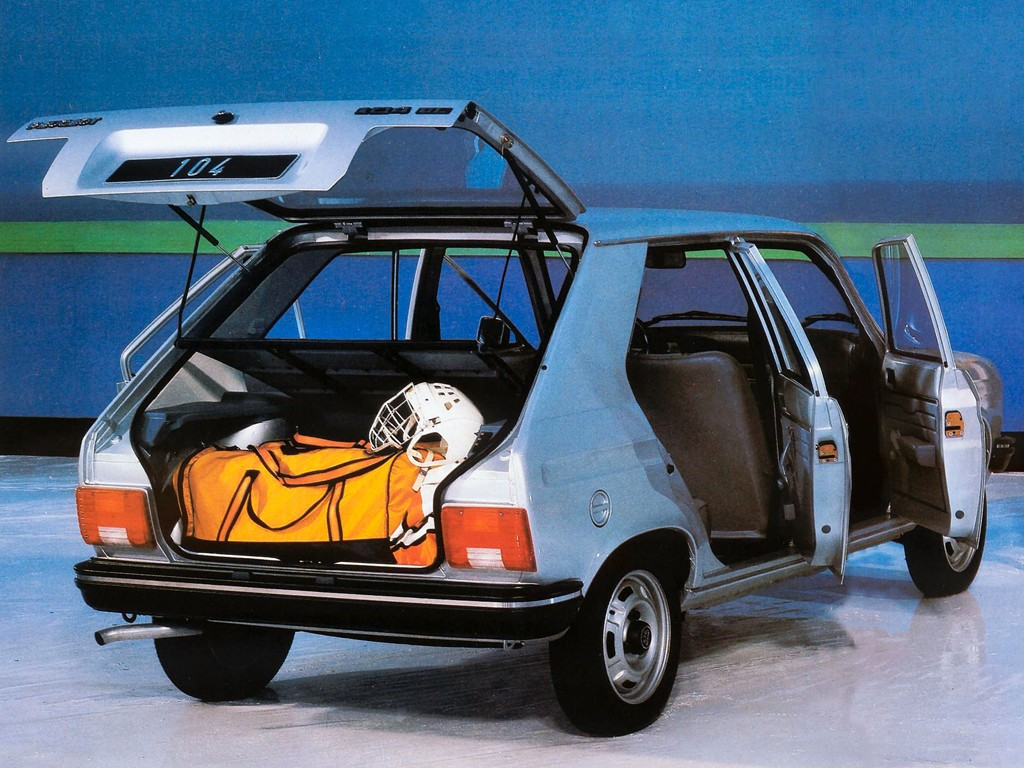Peugeot 104 1972 - 1988 Hatchback 3 door #5