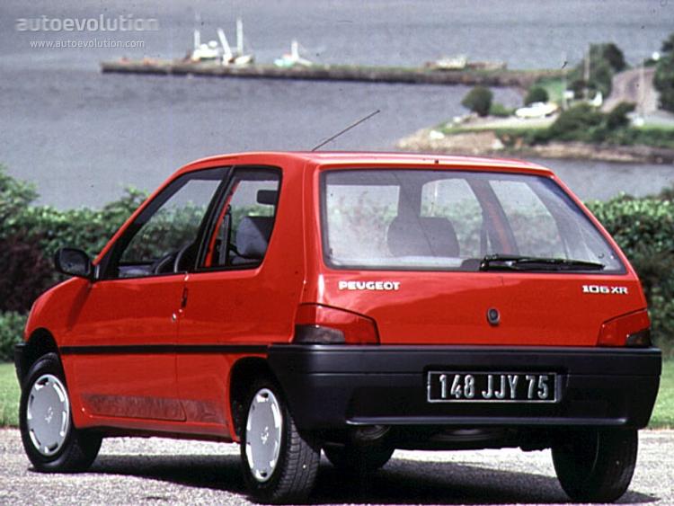 Peugeot 106 I 1991 - 1996 Hatchback 3 door #4