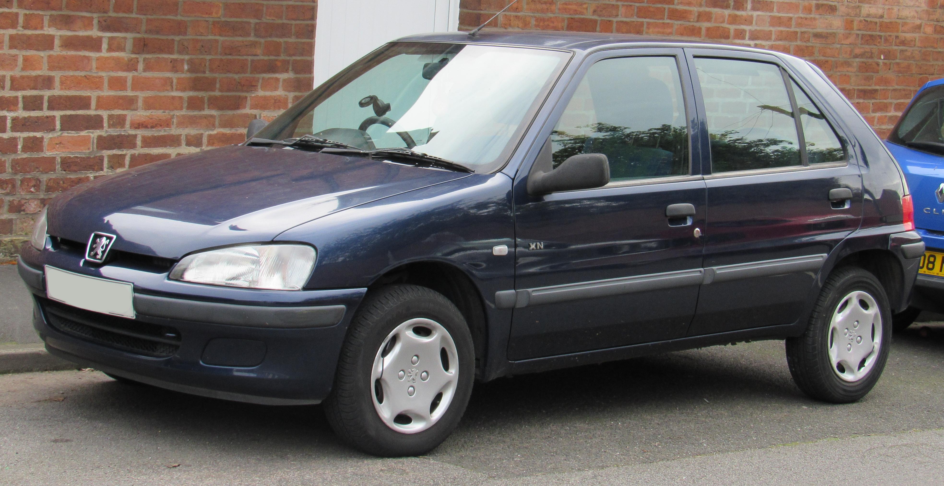 Peugeot 106 I 1991 - 1996 Hatchback 5 door #1