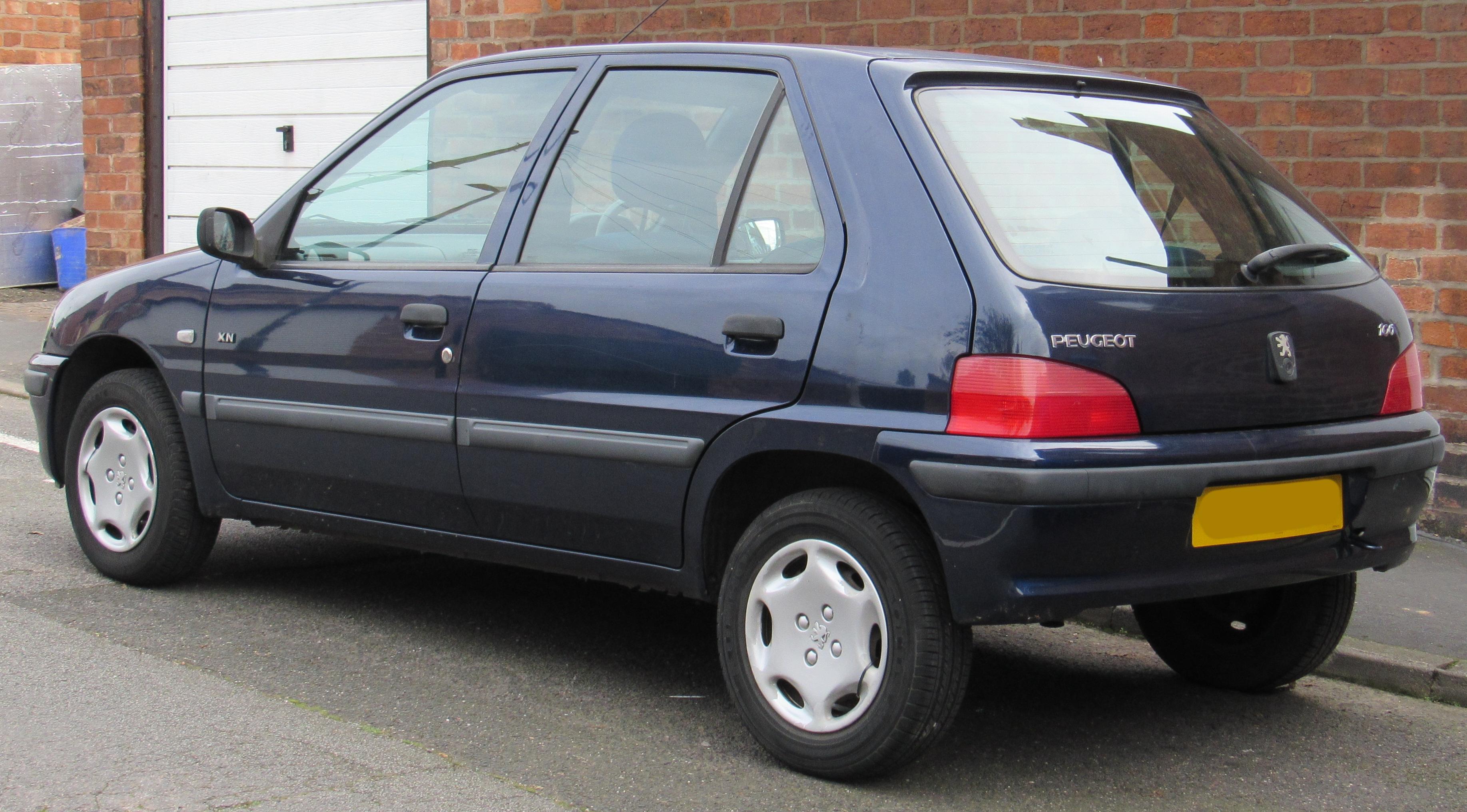 Peugeot 106 I Restyling 1996 - 2003 Hatchback 5 door #1