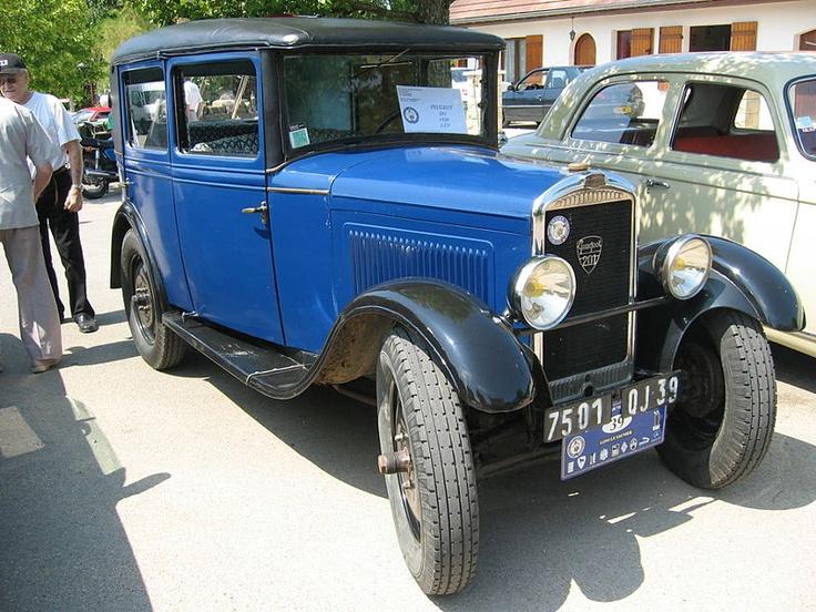 Peugeot 201 1929 - 1937 Sedan #2