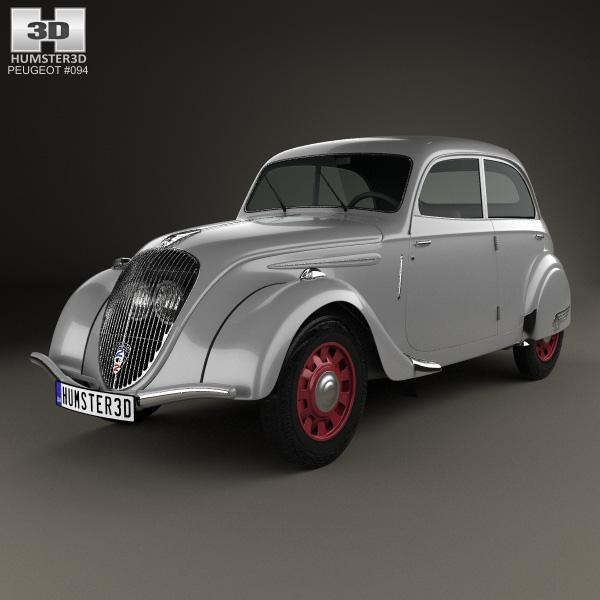 Peugeot 202 1938 - 1948 Sedan #5