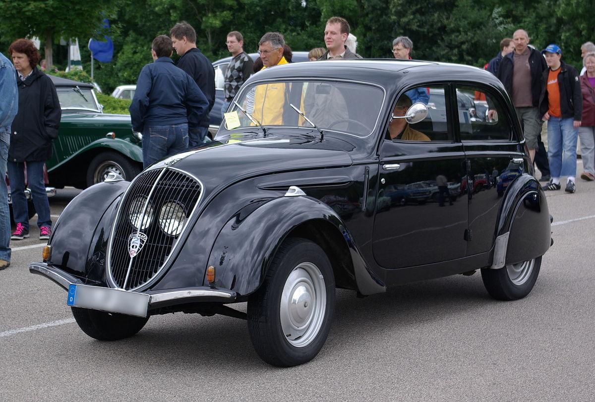 Peugeot 202 1938 - 1948 Sedan #8