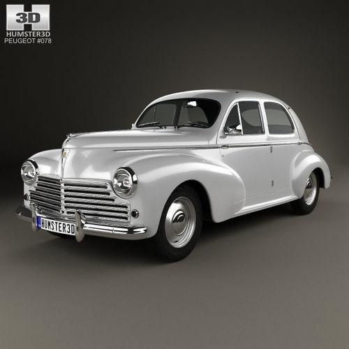 Peugeot 203 I 1948 - 1960 Sedan #4