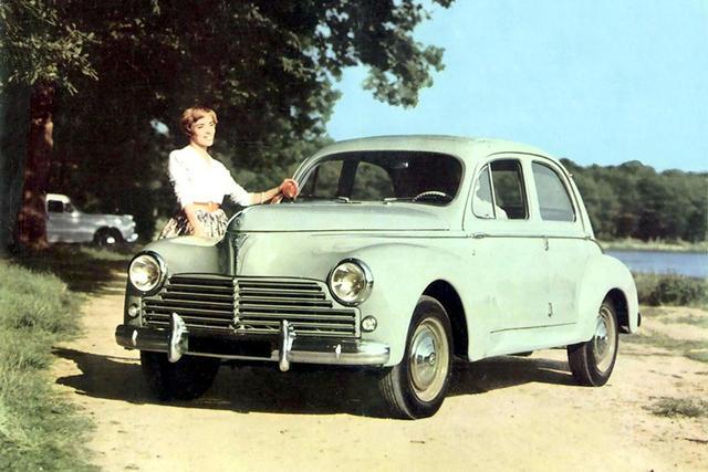Peugeot 203 I 1948 - 1960 Sedan #3