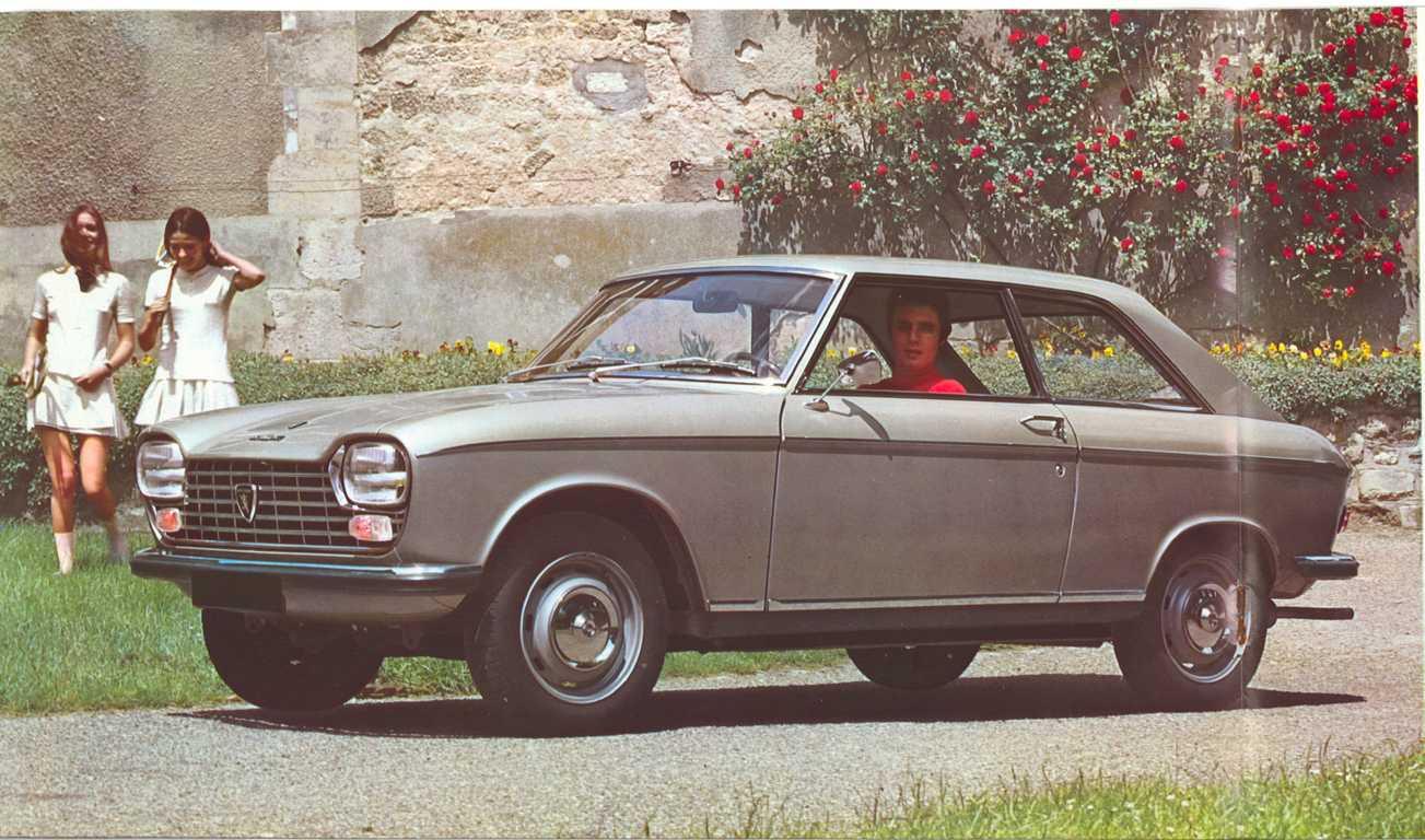 Peugeot 204 1965 - 1977 Sedan #4