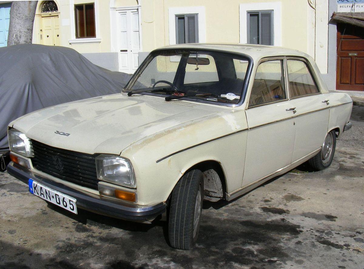 Peugeot 204 1965 - 1977 Sedan #8