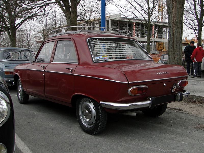 Peugeot 204 1965 - 1977 Sedan #2