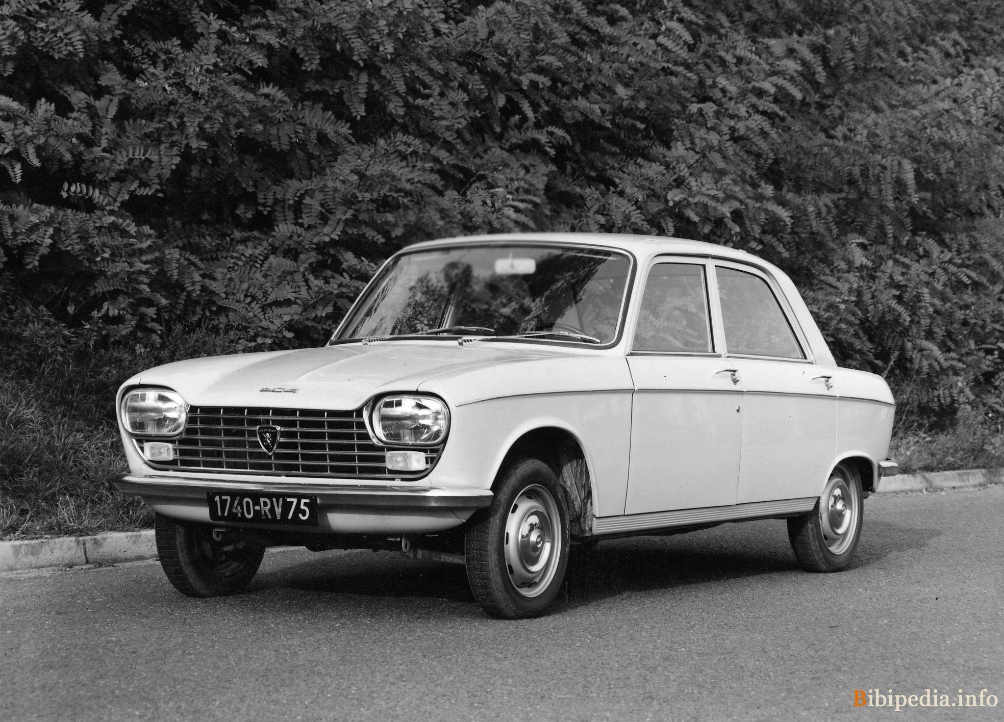 Peugeot 204 1965 - 1977 Sedan #5