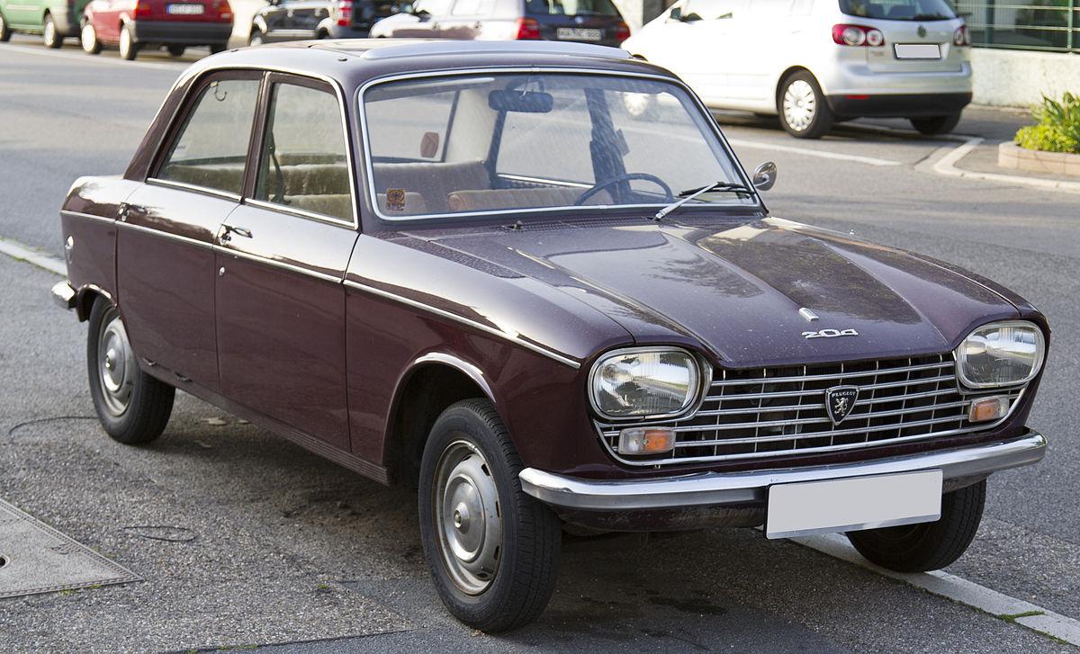 Peugeot 204 1965 - 1977 Sedan #7